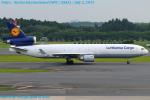 Chofu Spotter Ariaさんが、成田国際空港で撮影したルフトハンザ・カーゴ MD-11Fの航空フォト(飛行機 写真・画像)