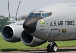 瑞穂の大さんが、横田基地で撮影したアメリカ空軍 KC-135R Stratotanker (717-148)の航空フォト(飛行機 写真・画像)