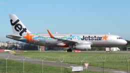 航空フォト:VH-VFL ジェットスター A320