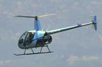佐治足康(Emty300改め)さんが、大阪ヘリポートで撮影したウインド217 R22 Beta IIの航空フォト(飛行機 写真・画像)