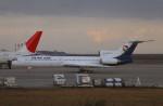 動物村猫君さんが、大分空港で撮影したタジキスタン航空 Tu-154/155の航空フォト(写真)