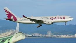 taka@777さんが、関西国際空港で撮影したカタール航空 A330-202の航空フォト(飛行機 写真・画像)