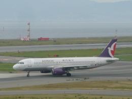 wrbluebl5さんが、関西国際空港で撮影したマカオ航空 A320-232の航空フォト(飛行機 写真・画像)