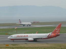 wrbluebl5さんが、関西国際空港で撮影したチェジュ航空 737-86Jの航空フォト(飛行機 写真・画像)