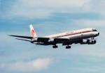 その他の流動資産さんが、成田国際空港で撮影した日本アジア航空 DC-8-61の航空フォト(写真)