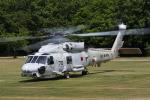 西風さんが、車力分屯基地で撮影した海上自衛隊 SH-60Jの航空フォト(写真)