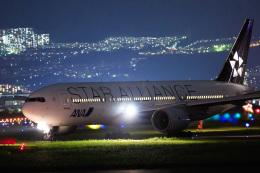 quamen88さんが、伊丹空港で撮影した全日空 777-281の航空フォト(飛行機 写真・画像)