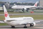 佐治足康(Emty300改め)さんが、伊丹空港で撮影した日本航空 777-289の航空フォト(飛行機 写真・画像)
