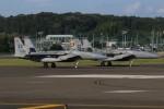 マリオ先輩さんが、横田基地で撮影したアメリカ空軍 F-15C Eagleの航空フォト(写真)