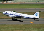 じーく。さんが、新千歳空港で撮影したBell Geospace DC-3の航空フォト(写真)