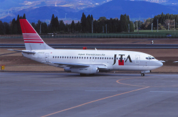 kumagorouさんが、鹿児島空港で撮影した日本トランスオーシャン航空 737-205/Advの航空フォト(飛行機 写真・画像)