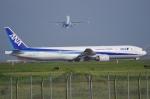 ken-kenさんが、羽田空港で撮影した全日空 777-381の航空フォト(写真)