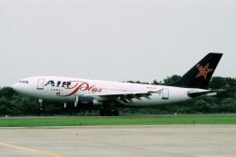 たろりんさんが、仙台空港で撮影したエア・プラス・コメット A310-324/ETの航空フォト(飛行機 写真・画像)