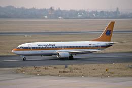 Gambardierさんが、デュッセルドルフ国際空港で撮影したハパック ロイド フルーク 737-4K5の航空フォト(飛行機 写真・画像)