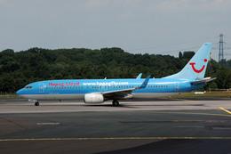 Gambardierさんが、デュッセルドルフ国際空港で撮影したハパックフライ 737-8K5の航空フォト(飛行機 写真・画像)