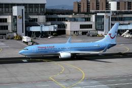 Gambardierさんが、フランクフルト国際空港で撮影したハパック ロイド フルーク 737-8K5の航空フォト(飛行機 写真・画像)
