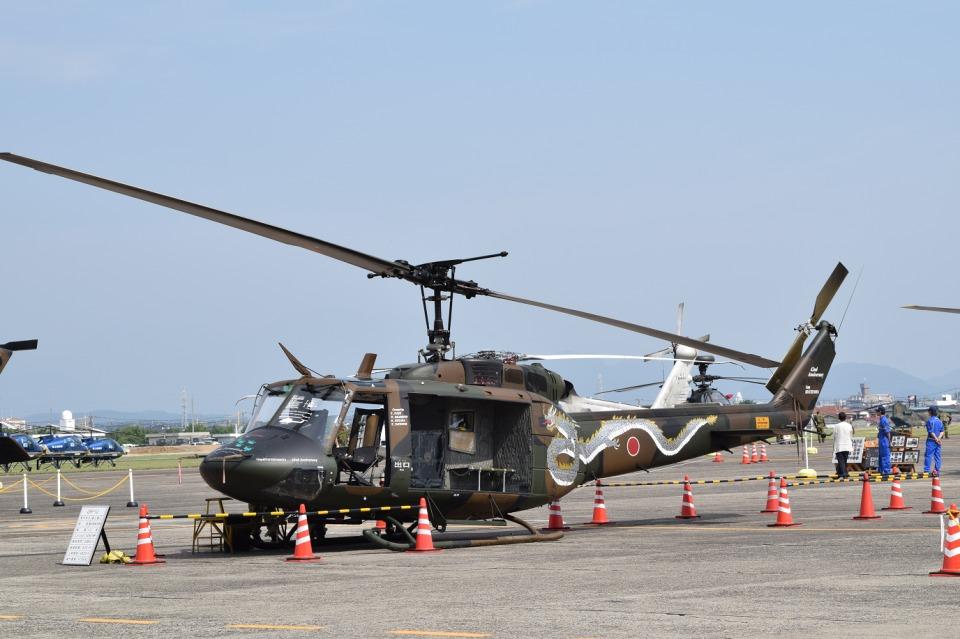 けんちゃんさんの陸上自衛隊 Fuji UH-1J (41819) 航空フォト