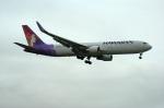 北の熊さんが、新千歳空港で撮影したハワイアン航空 767-33A/ERの航空フォト(写真)