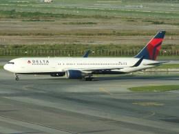 スカイマンタさんが、スワンナプーム国際空港で撮影したデルタ航空 767-3P6/ERの航空フォト(写真)