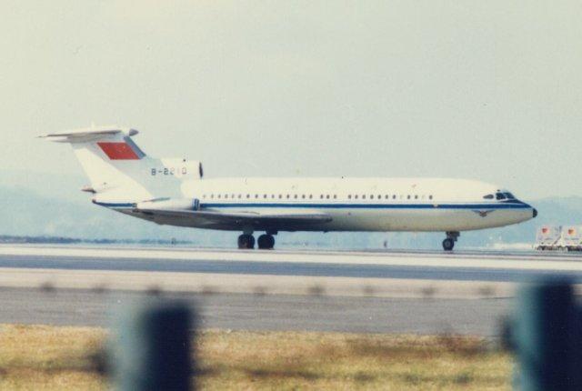 中国民用航空局 B-2210 長崎空港...