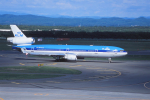 kumagorouさんが、新千歳空港で撮影したKLMオランダ航空 MD-11の航空フォト(写真)