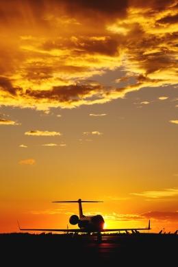 RUNDY!さんが、羽田空港で撮影したガルフストリーム・エアロスペース G350/G450の航空フォト(飛行機 写真・画像)