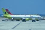tsubasa0624さんが、那覇空港で撮影したジンエアー 737-86Nの航空フォト(写真)