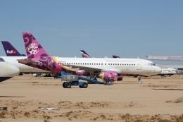 ZONOさんが、サザンカリフォルニアロジステクス空港で撮影したアヴィエーション・キャピタル・グループ A319-112の航空フォト(飛行機 写真・画像)
