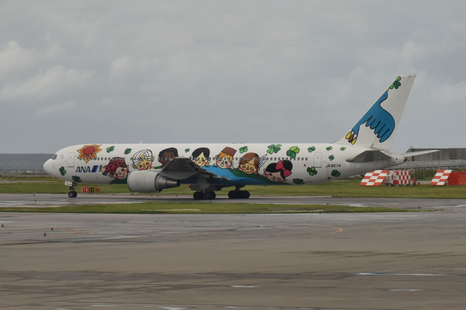 tsubasa0624さんの全日空 Boeing 767-300 (JA8674) 航空フォト