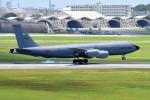 tsubasa0624さんが、嘉手納飛行場で撮影したアメリカ空軍 KC-135R Stratotanker (717-148)の航空フォト(飛行機 写真・画像)