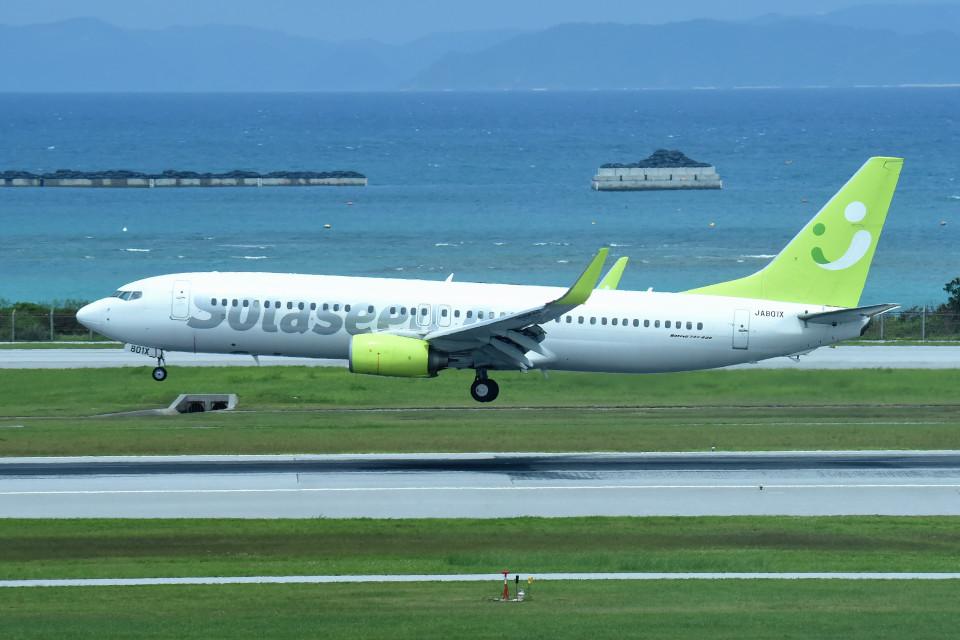 tsubasa0624さんのソラシド エア Boeing 737-800 (JA801X) 航空フォト