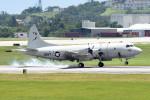 tsubasa0624さんが、嘉手納飛行場で撮影したアメリカ海軍 P-3C AIPの航空フォト(飛行機 写真・画像)