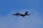 tsubasa0624さんが、嘉手納飛行場で撮影したアメリカ空軍 F/A-18F Super Hornetの航空フォト(飛行機 写真・画像)
