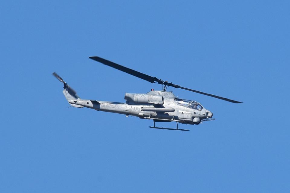 tsubasa0624さんのアメリカ海兵隊 Bell AH-1 SeaCobra/SuperCobra (HF165041) 航空フォト