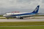 tsubasa0624さんが、那覇空港で撮影したANAウイングス 737-54Kの航空フォト(飛行機 写真・画像)