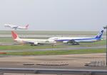 ふじいあきらさんが、羽田空港で撮影した日本航空 767-346の航空フォト(写真)
