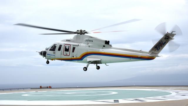 norimotoさんが、御蔵島ヘリポートで撮影した東邦航空 S-76C+の航空フォト(飛行機 写真・画像)