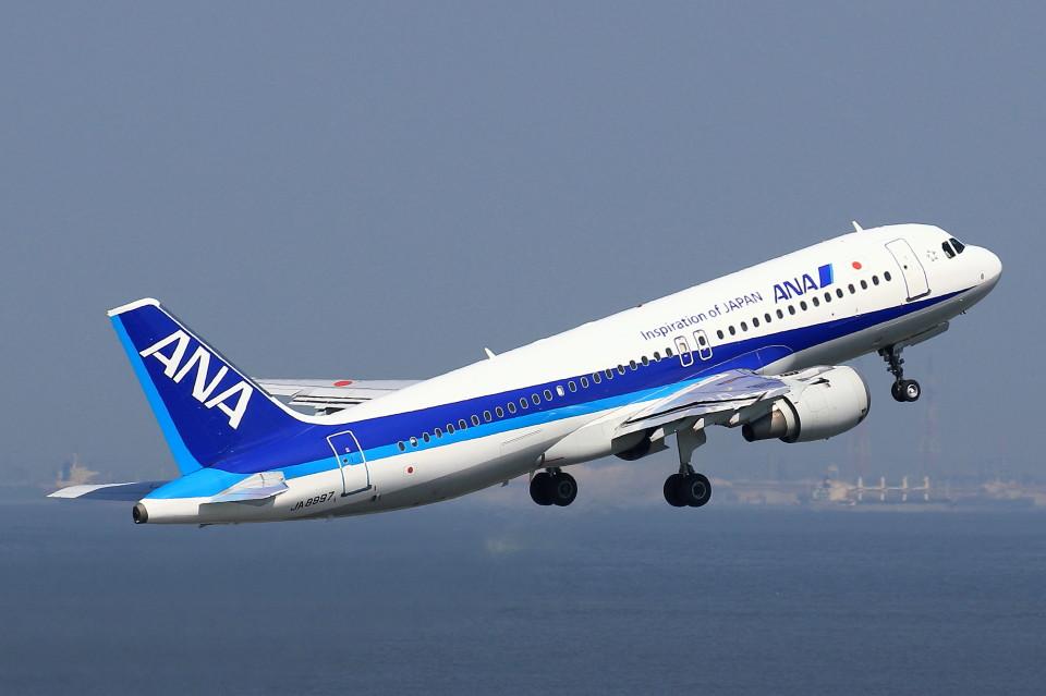 take_2014さんの全日空 Airbus A320 (JA8997) 航空フォト