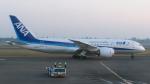 誘喜さんが、スカルノハッタ国際空港で撮影した全日空 787-8 Dreamlinerの航空フォト(写真)