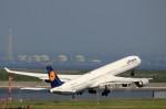 take_2014さんが、羽田空港で撮影したルフトハンザドイツ航空 A340-642Xの航空フォト(写真)