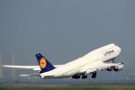 take_2014さんが、羽田空港で撮影したルフトハンザドイツ航空 747-230Bの航空フォト(飛行機 写真・画像)
