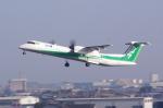 Airfly-Superexpressさんが、宮崎空港で撮影したANAウイングス DHC-8-402Q Dash 8の航空フォト(写真)