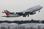 SKYLINEさんが、成田国際空港で撮影したフィリピン航空 747-4F6の航空フォト(写真)