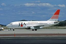 Gambardierさんが、岡山空港で撮影した日本トランスオーシャン航空 737-205/Advの航空フォト(飛行機 写真・画像)