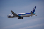 Airfly-Superexpressさんが、広島空港で撮影した全日空 777-281の航空フォト(飛行機 写真・画像)