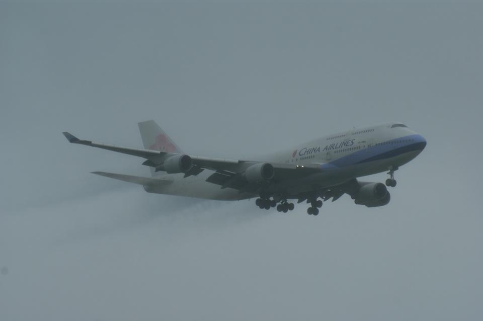 北の熊さんのチャイナエアライン Boeing 747-400 (B-18211) 航空フォト