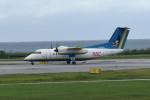 tsubasa0624さんが、那覇空港で撮影した琉球エアーコミューター DHC-8-103Q Dash 8の航空フォト(写真)