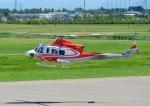 じーく。さんが、札幌飛行場で撮影した北海道防災航空隊 412EPの航空フォト(飛行機 写真・画像)