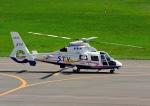 じーく。さんが、札幌飛行場で撮影した北海道航空 AS365N2 Dauphin 2の航空フォト(飛行機 写真・画像)