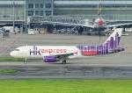 じーく。さんが、羽田空港で撮影した香港エクスプレス A320-232の航空フォト(写真)